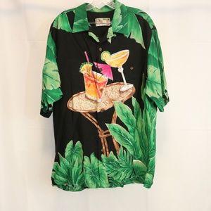 Tori Richard Men's XL Hawaiian Aloha Shirt Rayon